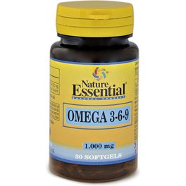 Nature Essential Omega 3-6-9 1000 Mg 30 Perlas