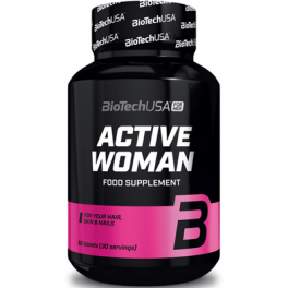 BioTechUSA Active Woman - Multivitaminico 60 comp