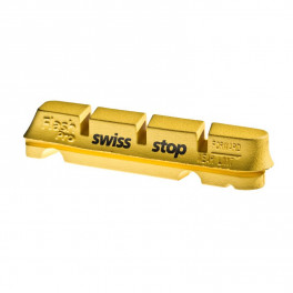 Swissstop Kit 4 Zapatas Flash Amarillo - Carbono
