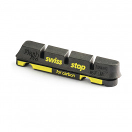 Swissstop Kit 4 Zapatas Flash Negro Carbono