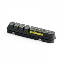 Swissstop Kit 4 Zapatas Flash Evo Negro/carbon