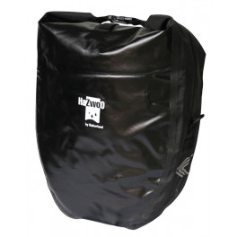 Haberland Alforja Impermeable 37x43x16 Negro 50 L