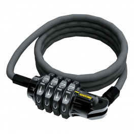 Onguard Candado Cable Terrier Combo 4 120 Cm X 6 Mm