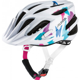 Alpina Casco Fb Junior 2.0 Blanco/mariposas Peso 230 G