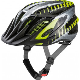 Alpina Casco Fb Junior 2.0 Negro/gris/amarillo Fluo Peso 230 G
