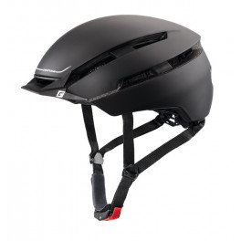 Cratoni Casco C-loom City Negro/blanco Mate