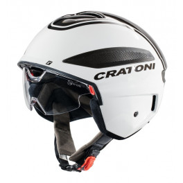 Cratoni Casco Vigor S-pedelec Blanco/antracita Brillo