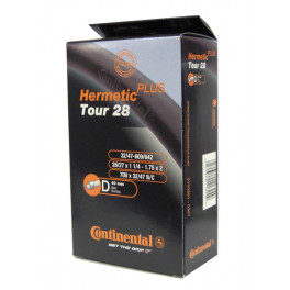Continental Camara Tour Hermetic Plus 28x1 1/4-1.75 Valvuva Dunlop 40 Mm