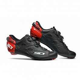 Sidi Zapatillas Shot Carbono Mate Negro/rojo