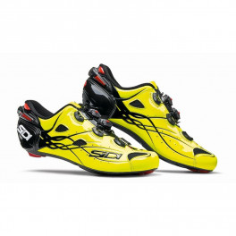 Sidi Zapatillas Shot Carbono Amarillo Fluo/negro