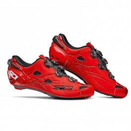 Sidi Zapatillas Shot Carbono Rojo Mate