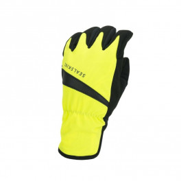 Sealskinz Guantes Impermeable Cycle Amarillo/negro