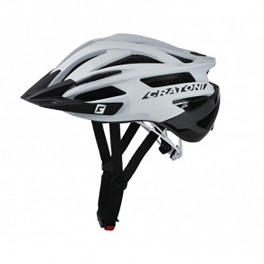 Cratoni Casco Agravic (mtb) Blanco/negro Brillante