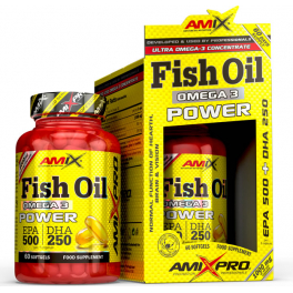 Amix Fish Oil Omega 3 Power 60 Caps