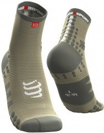 Compressport Calcetines Pro Racing Socks V3.0 Run High Dusty Olive