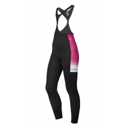 Spiuk Sportline Culotte Largo Performance Mujer Negro  - Rosa