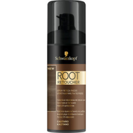 Syoss Root Retoucher Retoca Raices Spray Castaño 120 Ml Unisex