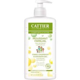 Cattier Gel De Ducha Y Champu Familar 500 Ml
