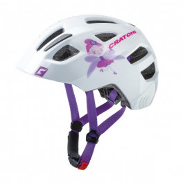 Cratoni Casco Maxster(kid) Hada/blanco Brillante
