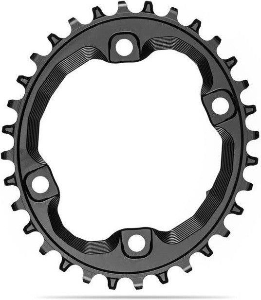 Absolute Black Plato Oval  xt M8000/mt700 Assymetrical N/w Chainring For Shimano Hg+ 12spd (tornillos Incluido)