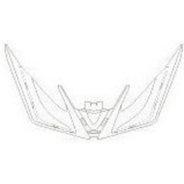 Rudy Project Snap Visor Racemaster  White