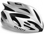 Rudy Project Rush White - Silver (shiny)  Visor - Free Pads Incl.