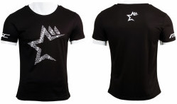 Msc Camiseta Casual Star Negro