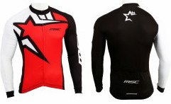 Msc Chaqueta All Season Rojo / Negro