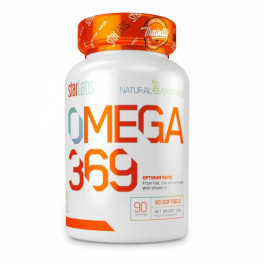 Starlabs Nutrition Omega 369 90 Softgels