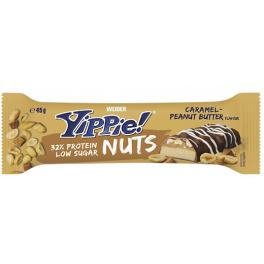 Weider Yippie Nuts Bar 1 barrita x 45 gr