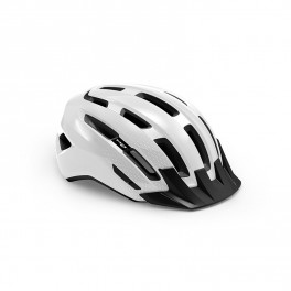 Met Casco Downtown Mips Blanco Brillo