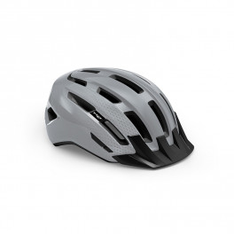 Met Casco Downtown Mips Gris Brillo
