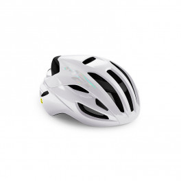 Met Casco Rivale Blanco Brillo