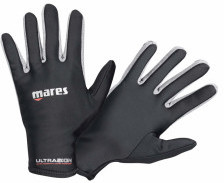 Mares Guantes Ultraskin Gris Oscuro