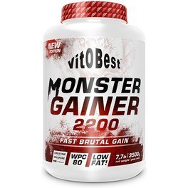 Vitobest Monster Gainer 2200 3 Kg Chocolate
