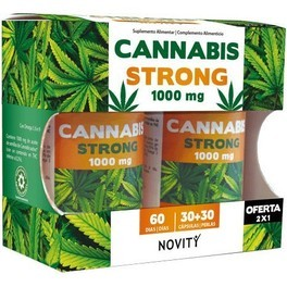 Dietmed Cannabis Strong 1000 Mg 30+3o Comp
