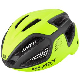 Rudy Project Spectrum Yellow Fluo - Black (matte) Free Pads + Bug Stop + Pouch Incl.