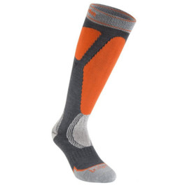 Bridgedale Ski Easy On Gris/naranja