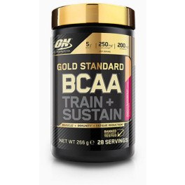 Optimum Nutrition Proteína On Gold Standard BCAA Train + Sustain 266 gr