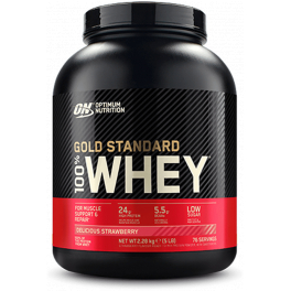 Optimum Nutrition Proteína On 100% Whey Gold Standard 5 Lbs (2,27 Kg)