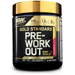 Optimum Nutrition Proteína On Gold Standard Pre-Workout 330 gr