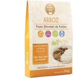 The Konjac Shop Arroz De Konjac 200 G