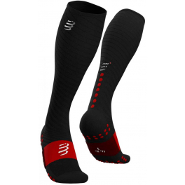 Compressport Calcetines Full Socks Recovery Negro