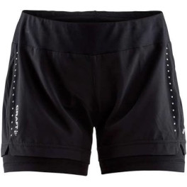 Craft Essential 2-in-1 Shorts W Negro