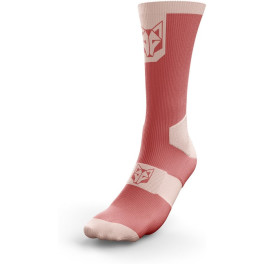Calcetines de Ciclismo High Cut Pink Salmon & Pink Coral - Otso