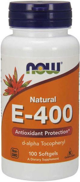 Now Vitamina E-400 268 Mg 100 Perl