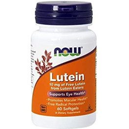 Now Lutein Esters 10 Mg 60 Caps
