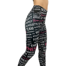 Silvana Campos Leggings Letters