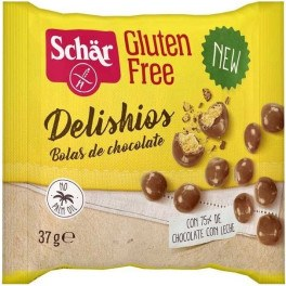 Dr. Schar Delishios Bolas Chocolate Con Leche 37 Gr