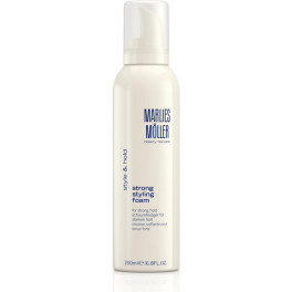 Marlies Moller Styling Strong Styling Foam 200 Ml Unisex